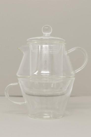 Glass Teaset, 14 oz
